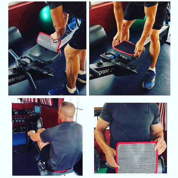 The GymPro® hygienic seat barrier creates a clean and moisture-absorbing barrier between you and the gym equipment you share!