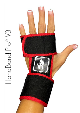HandBand Pro V3 with Wrist Support - Crossfit Gloves Womens
