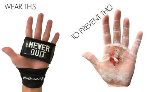 Wear the best gloves for Crossfit - HandBand Pro®- and never rip