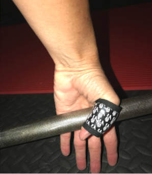 Hook grip for snatches and cleans are comfortable with HookGrip Pro®!