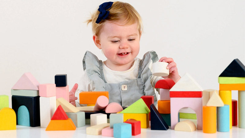 Stacking Toys and Your Child's Balance