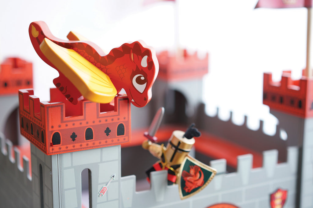 Toy Castles, Knights & Fairies