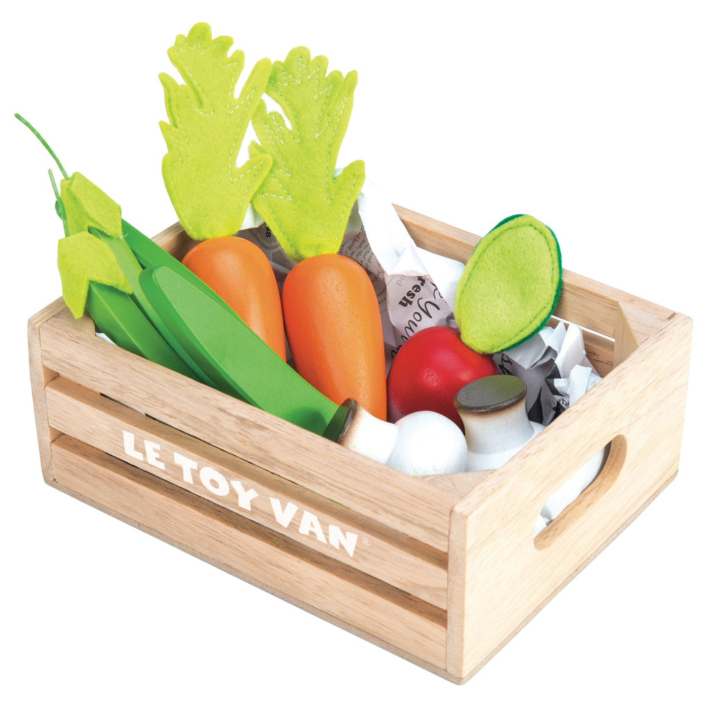 Vegetables '5 a Day' Crate,  - Le Toy Van