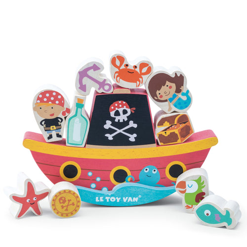 Pirate Rocking Toy,  - Le Toy Van