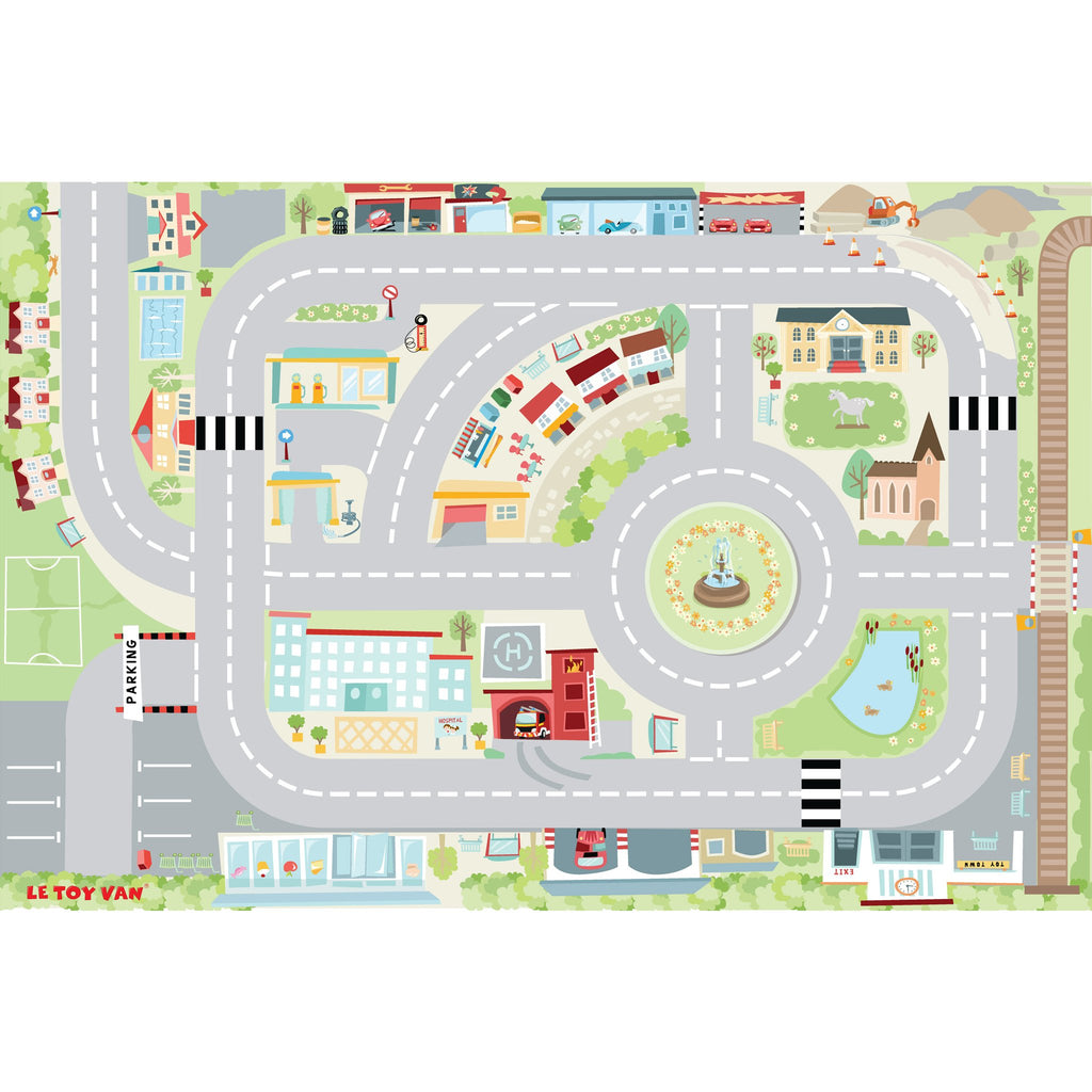 Town Playmat,  - Le Toy Van