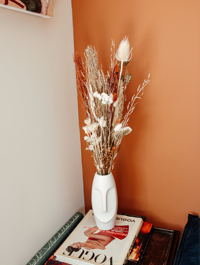 Droogboeket Earth fire Flowers to stay - FTS Atelier