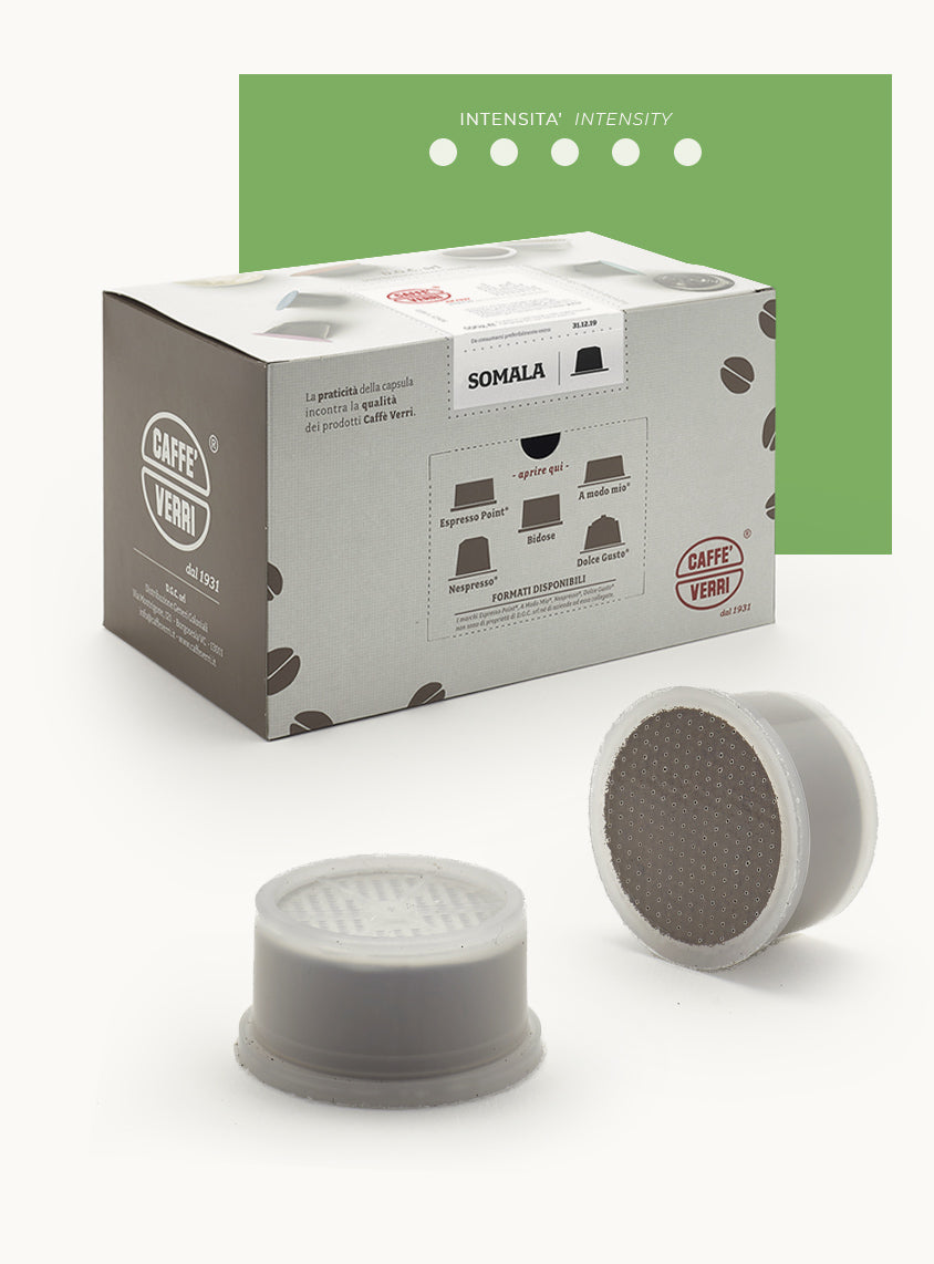 Somala Blend coffee capsules - compatible with Lavazza Espresso Point