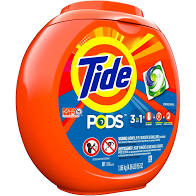 42ct Tide Pods 3-in-1 Original 34oz
