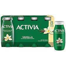 Activia Probiotic Yogurt Drinks Vanilla 8pack