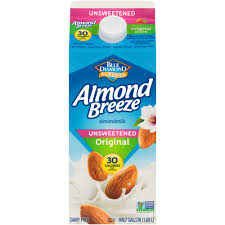 Almond Breeze Almond Milk Original 1/2 Gallon