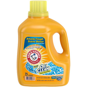 Arm & Hammer with Oxi Clean Laundry Detergent 131.25oz
