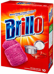 Brillo Original Steel Wool Soap Pads 10ct