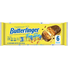 Butterfinger Fun Size Candy Bars 6ct 3.9oz