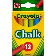 Crayola Colored Chalk 12ct