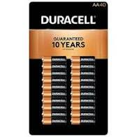 Duracell AA Batteries 40ct