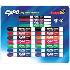 Expo Dry Erase Markers 18ct Variety