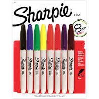 Sharpie Fine Colored Markers 8 ct