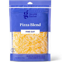 Finely Shredded Pizza Blend Cheese 8 oz Good & Gather