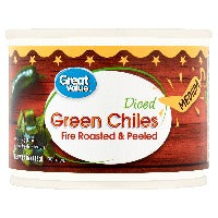 Market Pantry Mild Fire Roasted Diced Green Chiles 4oz