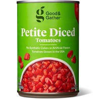 Good & Gather Petite Diced Tomatoes 14.5oz