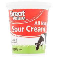 Great Value Original Sour Cream 16oz