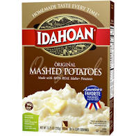 Idahoan Original Mashed Potatoes, 13.75 Oz Box