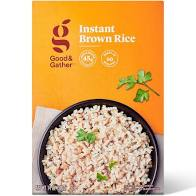 Instant Brown Rice - 14oz - Good & Gather