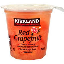 Kirkland Grapefruit Cup 8oz