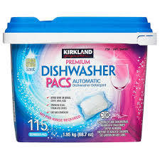 Kirkland Signature Premium Dishwasher Detergent Pacs, 115ct