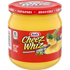 Kraft Cheez Whiz Original Cheese Dip, 15oz