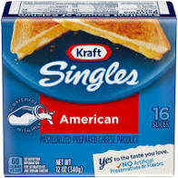 Kraft Singles American Cheese Slices 16ct