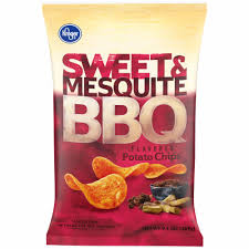 Kroger Sweet & Mesquite BBQ Potato Chips 7.75oz