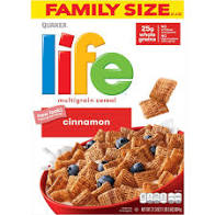 Life Cinnamon Multigrain Breakfast Cereal 21.3oz