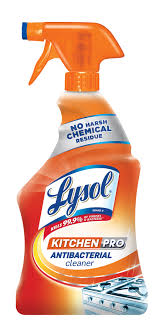Lysol Kitchen Pro Antibacterial Cleaner 22oz