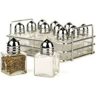 Mini Salt & Pepper Shakers 24ct