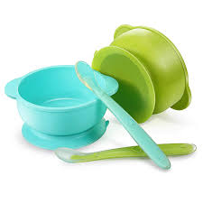 Panda Ear Silicone Suction Bowls