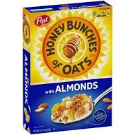 Post Honey Bunches Of Oats w/Almonds 14.5oz