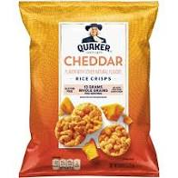 Quaker Cheddar Rice Crisps 6.06oz