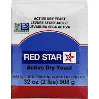 Red Star Active Dry Yeast, 32 oz