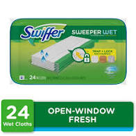 Swiffer Sweeper Wet Mopping Cloths 24ct