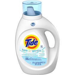 Tide Free HE Liquid Laundry Detergent 92oz