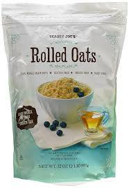 Trader Joe's Rolled Oats 100% Whole Grain Gluten Free 32 oz.
