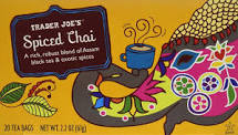 Trader Joe's Spiced Chai Tea Bags 20ct