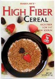 Trader Joes High FIber Cereal 14.5oz