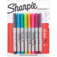 Sharpie Ultra Fine Colored Markers 8ct