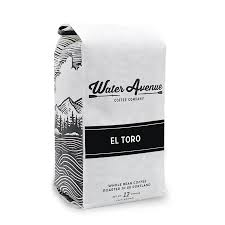 Water Avenue Whole Bean Coffee  12oz, El Toro