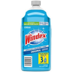 Windex Original Glass Cleaner Refill 67.6oz