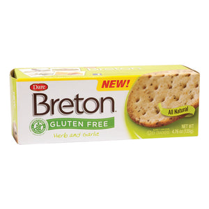 Dare Breton GF Herb & Garlic Crackers 4.76oz