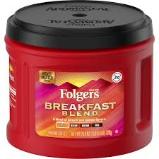 Folgers Breakfast Blend Ground Coffee 25.4oz