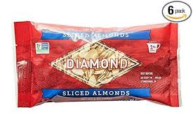 Diamond Sliced Almonds 6oz